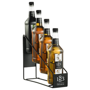 Syrup 1883 Maison Routin Wire Rack (4 Bottles)-Syrups-1883 Maison Routin-Carry Out Supplies