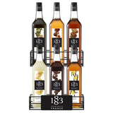 Syrup 1883 Maison Routin Wire Rack (6 Bottles)-Syrups-1883 Maison Routin-Carry Out Supplies
