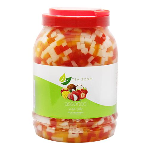 Tea Zone Assorted Yogo Jelly (8.5 lbs)-Jellies-Tea Zone-Carry Out Supplies