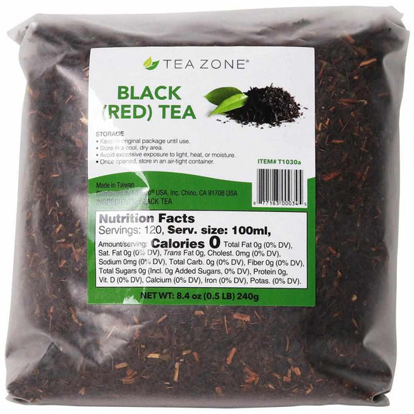 Tea Zone Black (Red) Tea Leaves - Case-Tea Leaves-Tea Zone-Carry Out Supplies