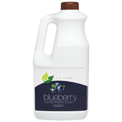 Tea Zone Blueberry Syrup Bottle - 64 oz-Syrups-Tea Zone-Carry Out Supplies
