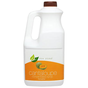 Tea Zone Cantaloupe Syrup Bottle - 64 oz-Syrups-Tea Zone-Carry Out Supplies