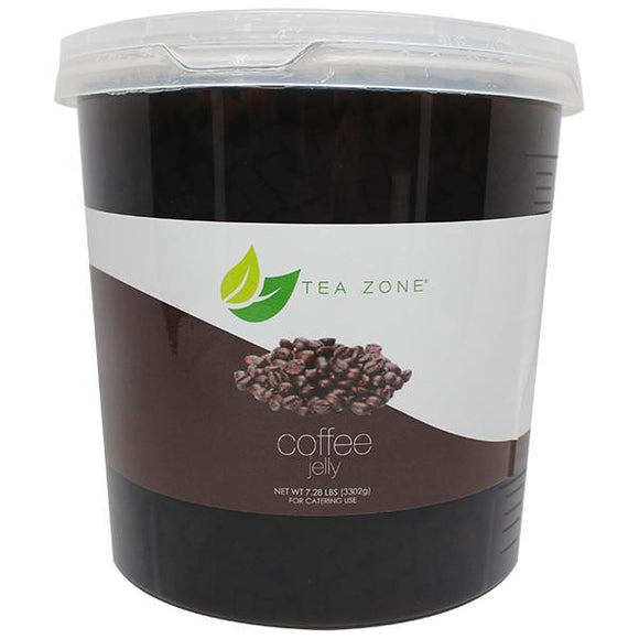 Tea Zone Coffee Jelly Boba (7.28 lbs)-Jellies-Tea Zone-Carry Out Supplies