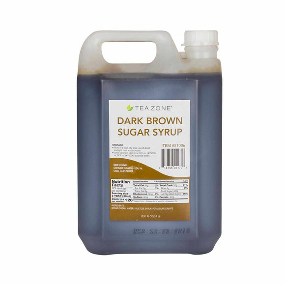 Tea Zone Dark Brown Sugar Syrup (11.2 lbs)-Syrups-Tea Zone-Carry Out Supplies