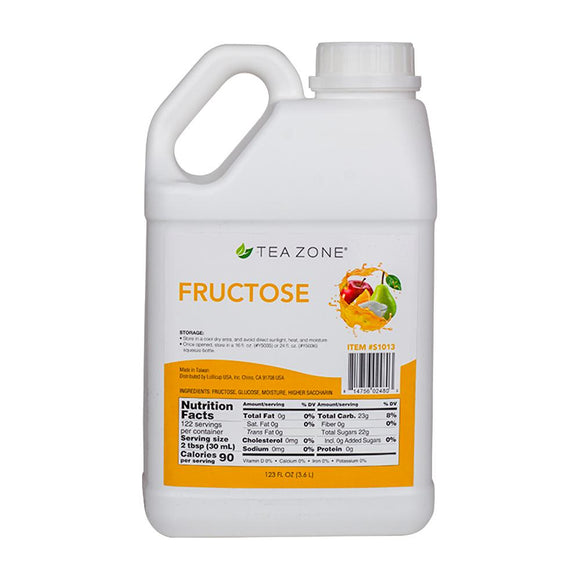 Tea Zone Fructose (11lbs)-Syrups-Tea Zone-Carry Out Supplies
