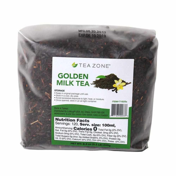 Tea Zone Golden Milk Tea Leaves - Case-Tea Leaves-Tea Zone-Carry Out Supplies