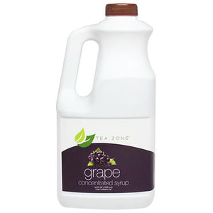 Tea Zone Grape Syrup Bottle - 64 oz-Syrups-Tea Zone-Carry Out Supplies