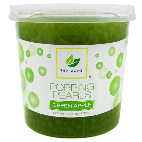 Green Apple Bursting Boba by Tea Zone