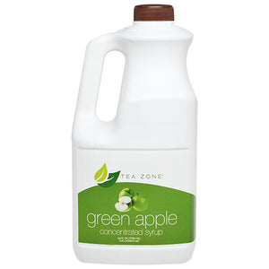 Tea Zone Green Apple Syrup Bottle - 64 oz-Syrups-Tea Zone-Carry Out Supplies