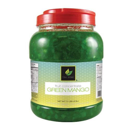 Tea Zone Green Mango Concentrate (7.7 lbs)-Liquid Base & Purees-Tea Zone-Carry Out Supplies
