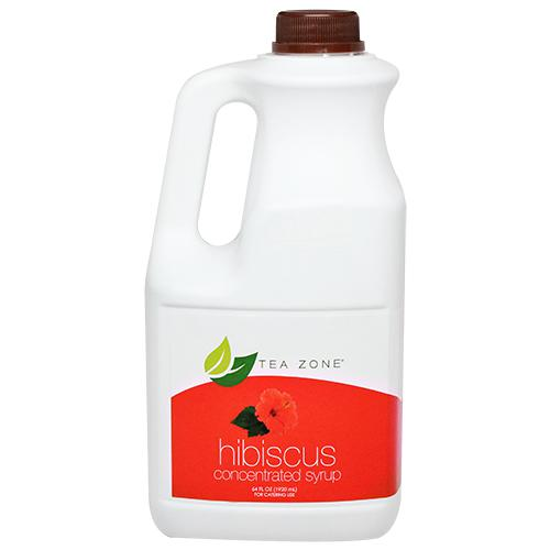 Tea Zone Hibiscus (Jamaica) Syrup Bottle - 64 oz-Syrups-Tea Zone-Carry Out Supplies