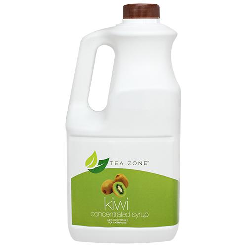 Tea Zone Kiwi Syrup Bottle - 64 oz-Syrups-Tea Zone-Carry Out Supplies