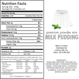 Tea Zone Milk Pudding Mix (2.2 lbs)-Dessert Mixes-Tea Zone-Carry Out Supplies