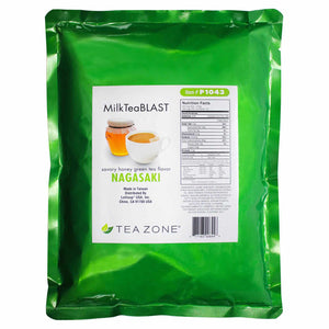 Tea Zone MilkTeaBLAST Nagasaki Savory Honey Green Tea Powder (2.2 lbs)-Powdered Base-Tea Zone-Carry Out Supplies