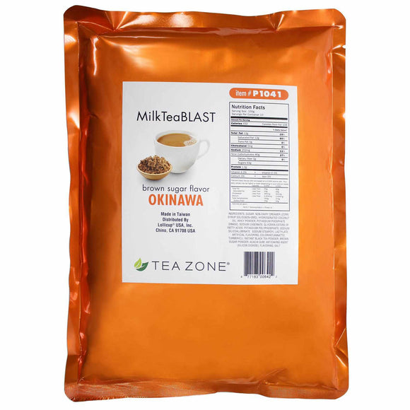 Tea Zone MilkTeaBLAST Okinawa Brown Sugar Powder (2.2 lbs)-Powdered Base-Tea Zone-Carry Out Supplies