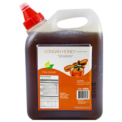 Tea Zone Original Longan Honey (106oz)-Syrups-Tea Zone-Carry Out Supplies
