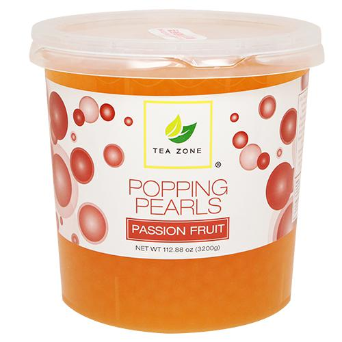 Tea Zone Passion Fruit Popping Pearls (7 lbs)-Popping Pearls-Tea Zone-Carry Out Supplies