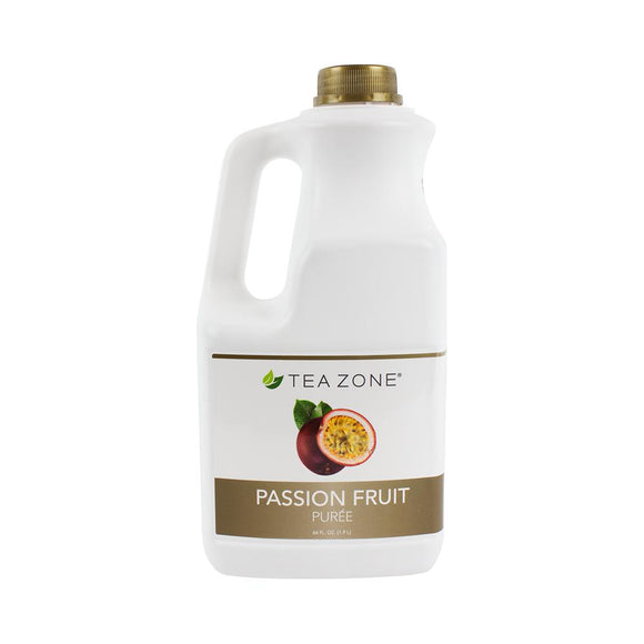 Tea Zone Passion Fruit Puree Bottle - 64 oz-Syrups-Tea Zone-Carry Out Supplies