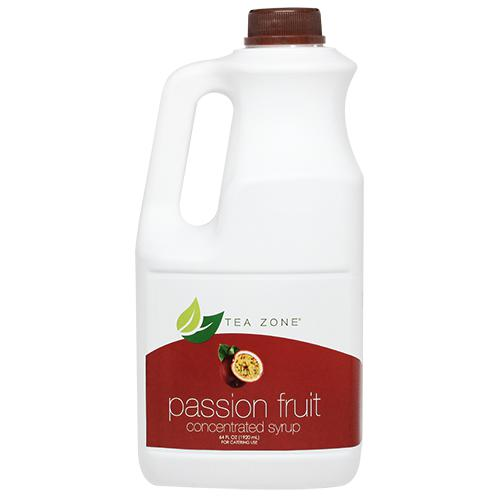 Tea Zone Passion Fruit Syrup Bottle - 64 oz-Syrups-Tea Zone-Carry Out Supplies