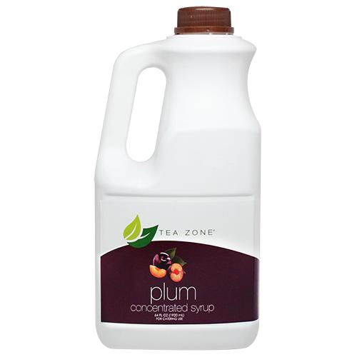 Tea Zone Plum Syrup Bottle - 64 oz-Syrups-Tea Zone-Carry Out Supplies