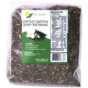 Tea Zone Premium Jasmine Green Tea Leaves - Case-Tea Leaves-Tea Zone-Carry Out Supplies