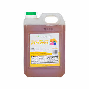 TEA ZONE PREMIUM WILDFLOWER HONEY (71.4 FL. OZ.), S1052-Syrups-Restaurant Supply Drop-Carry Out Supplies