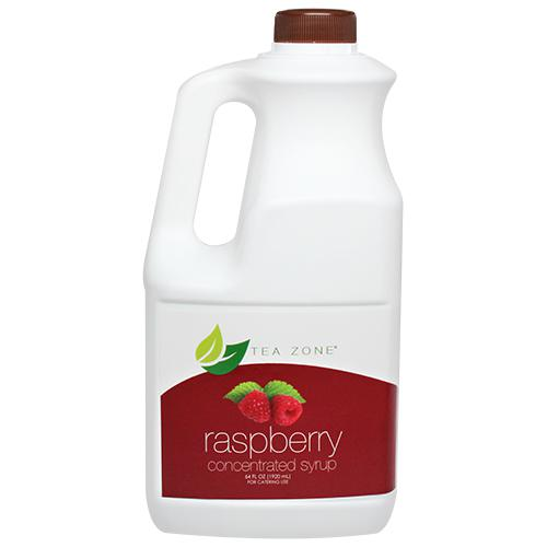 Tea Zone Raspberry Syrup Bottle - 64 oz-Syrups-Tea Zone-Carry Out Supplies
