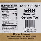 Tea Zone Roasted Oolong Tea - 50 Bags-Tea Leaves-Tea Zone-Carry Out Supplies