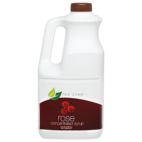 Tea Zone Rose Syrup Bottle - 64 oz-Syrups-Tea Zone-Carry Out Supplies