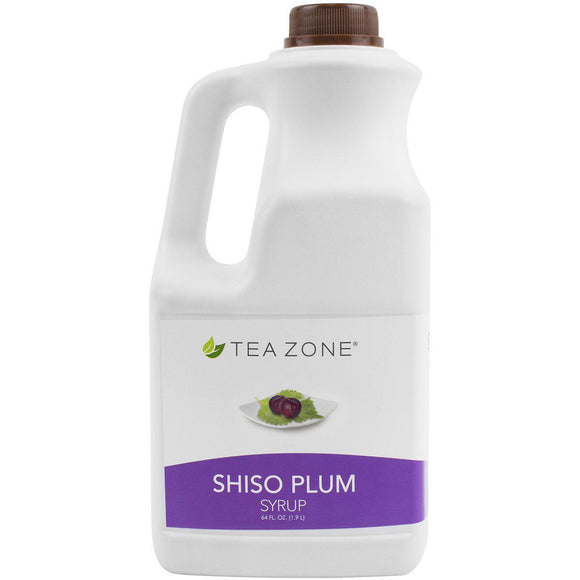 Tea Zone Shiso Plum Syrup Bottle - 64 oz-Syrups-Tea Zone-Carry Out Supplies