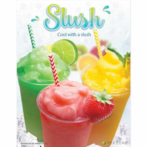 "Tea Zone ""Slush"" Poster-Displays-Karat-Carry Out Supplies"