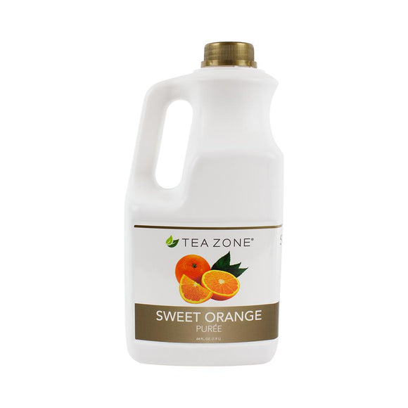 Tea Zone Sweet Orange Puree Bottle - 64 oz-Syrups-Tea Zone-Carry Out Supplies