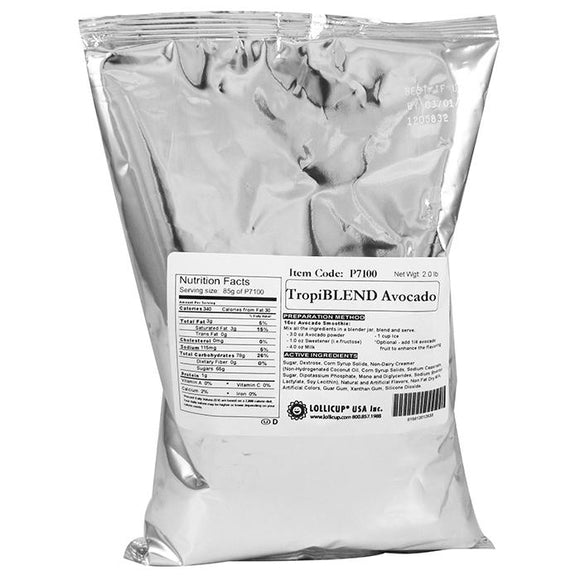 Tea Zone TropiBLEND Avocado Powder (2 lbs)-Powders-Tea Zone-Carry Out Supplies