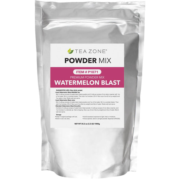 Tea Zone Watermelon BLAST Powder (2.2 lbs)-Powders-Tea Zone-Carry Out Supplies