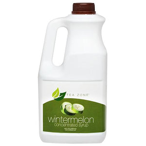 Tea Zone Winter Melon Syrup Bottle - 64 oz-Syrups-Tea Zone-Carry Out Supplies