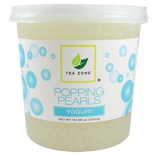 Tea Zone Yogurt Popping Pearls (7 lbs)-Popping Pearls-Tea Zone-Carry Out Supplies