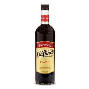 Tiramisu DaVinci Gourmet Syrup Bottle - 750mL-Syrups-DaVinci Gourmet-Carry Out Supplies