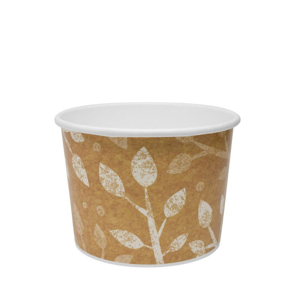 To Go Soup Containers 10/12oz Gourmet Food Cup - Leaf (96mm) - 500 ct-To-Go Packaging-Karat-No Lids-Carry Out Supplies