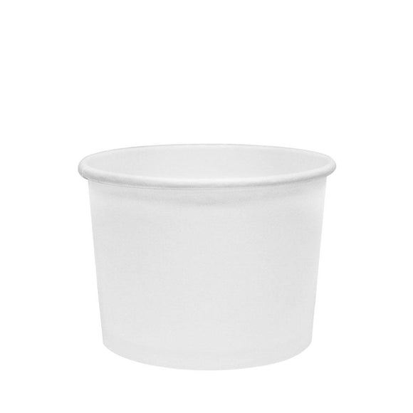 To Go Soup Containers 10/12oz Gourmet Food Cup - White (96mm) - 500 ct-To-Go Packaging-Karat-No Lids-Carry Out Supplies