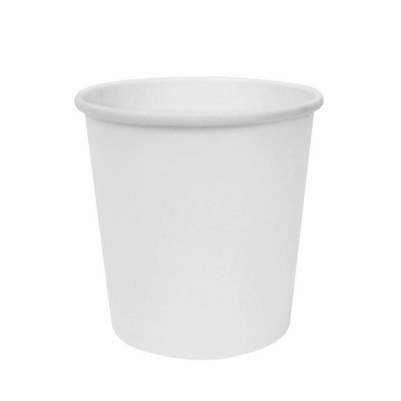 To Go Soup Containers 16oz Gourmet Food Cup - White (96mm) - 500 ct-To-Go Packaging-Karat-No Lids-Carry Out Supplies