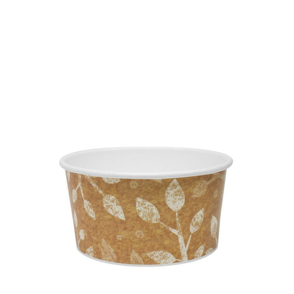 To Go Soup Containers 6oz Gourmet Food Cup - Leaf (96mm) - 500 ct-To-Go Packaging-Karat-No Lids-Carry Out Supplies