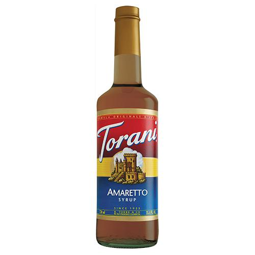 Torani Amaretto Syrup - 750 ml Bottle-Syrups-torani-Carry Out Supplies