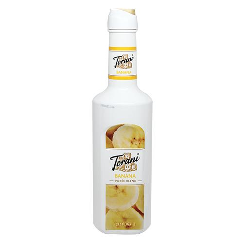 Torani Banana Pure Blend (1L)-Liquid Base & Purees-torani-Carry Out Supplies