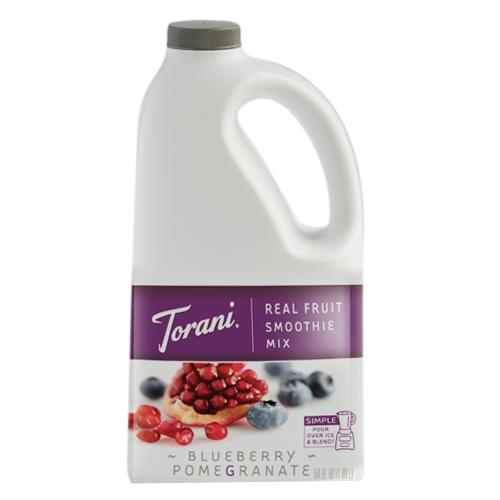 Torani Blueberry Pomegranate Real Fruit Smoothie Mix (64 oz)-Liquid Base & Purees-torani-Carry Out Supplies