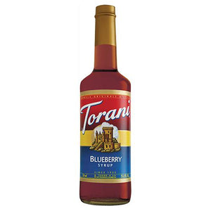 Torani Blueberry Syrup - 750 ml Bottle-Syrups-torani-Carry Out Supplies