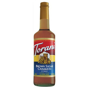 Torani Brown Sugar Cinnamon Syrup - 750 ml Bottle-Syrups-torani-Carry Out Supplies