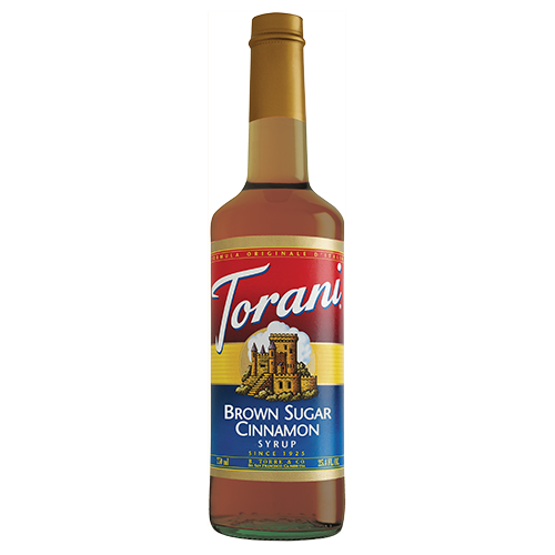 Torani Brown Sugar Cinnamon Syrup - 750 ml Bottle-Restaurant Supply Drop