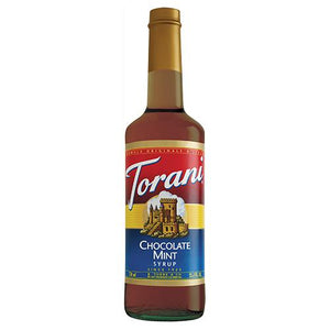 Torani Chocolate Mint Syrup - 750 ml Bottle-Syrups-torani-Carry Out Supplies