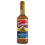Torani Classic Hazelnut Syrup - 750 ml Bottle-Restaurant Supply Drop