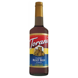 Torani Classic Root Beer Syrup - 750 ml Bottle-Syrups-torani-Carry Out Supplies